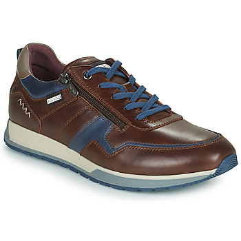 Shoes Men Low top trainers Pikolinos CAMBIL Brown / Blue