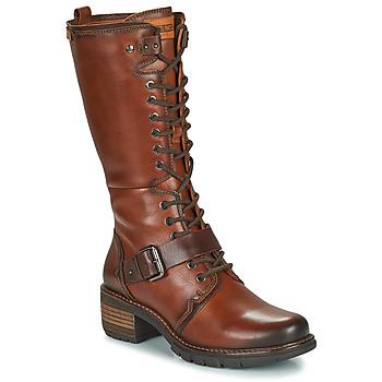 Shoes Women High boots Pikolinos SAN SEBASTIA Brown