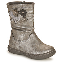 Shoes Girl High boots Chicco CAROL Silver