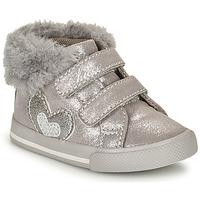 Shoes Girl Hi top trainers Chicco GLAM Grey