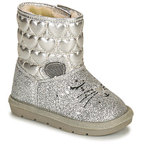 Shoes Girl Mid boots Chicco CADDY Silver