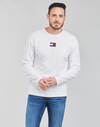 Clothing Men Long sleeved tee-shirts Tommy Jeans TJM LS TOMMY BADGE TEE White