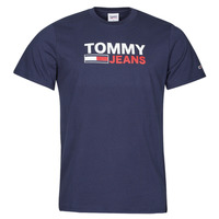 Clothing Men Short-sleeved t-shirts Tommy Jeans TJM CORP LOGO TEE Marine