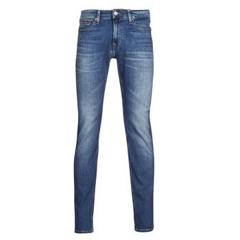 Clothing Men Slim jeans Tommy Jeans SCANTON SLIM AE136 MBS Blue / Medium