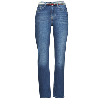 Clothing Women Straight jeans Tommy Hilfiger NEW CLASSIC STRAIGHT HW A LEA Blue / Medium