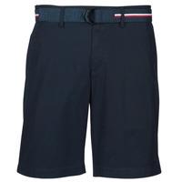 Clothing Men Shorts / Bermudas Tommy Hilfiger BROOKLYN LIGHT TWILL Marine