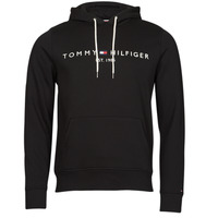 Clothing Men Sweaters Tommy Hilfiger TOMMY LOGO HOODY Black