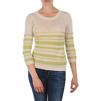 Clothing Women Jumpers Marc O'Polo ESTER White / Yellow