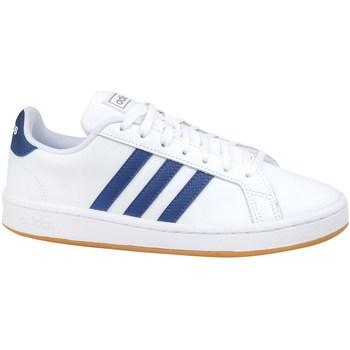Shoes Men Low top trainers adidas Originals Grand Court Base White, Blue