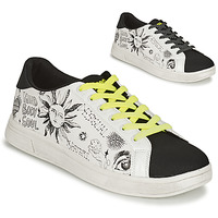 Shoes Women Low top trainers Desigual SHOES_COSMIC_LETTERING White