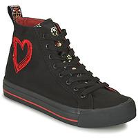 Shoes Women Hi top trainers Desigual BETA MILITAR Black