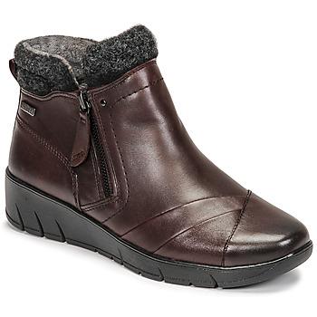 Shoes Women Mid boots Jana GHERRA Bordeaux