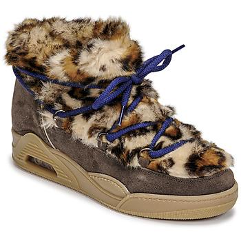 Shoes Women Mid boots Serafini MOON LOW Leopard