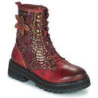 Shoes Women Mid boots Laura Vita IACNISO Bordeaux / Purple