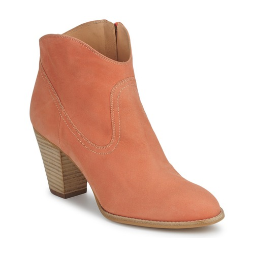 Shoes Women Shoe boots Paul & Joe LEONA Orange