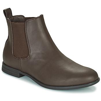 Shoes Men Mid boots Jack & Jones JFW MITCHELL CHELSEA Brown