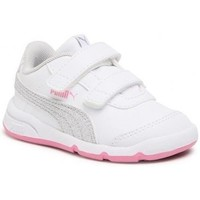 Shoes Children Low top trainers Puma Stepfleex 2 SL VE Inf White, Pink
