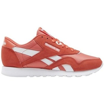 Shoes Women Low top trainers Reebok Sport CL Nylon Red