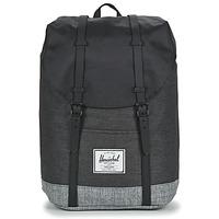 Bags Rucksacks Herschel RETREAT Black / Grey