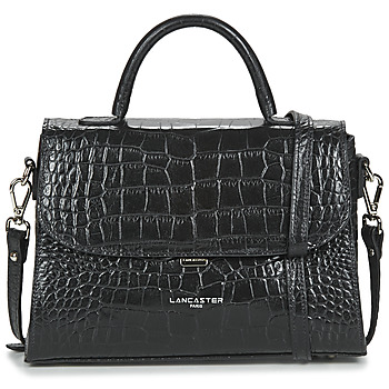 Bags Women Handbags LANCASTER EXOTIC CROCO FR Black