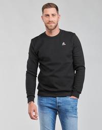 Clothing Men Sweaters Le Coq Sportif ESS CREW SWEAT N 3 M Black