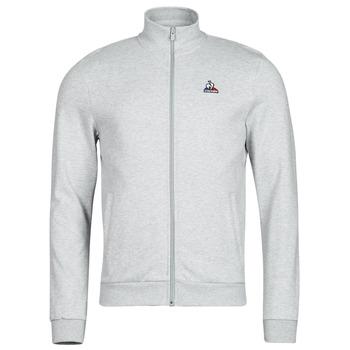 Clothing Men Track tops Le Coq Sportif ESS FZ SWEAT N 3 M Grey / Mottled