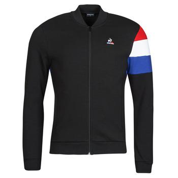 Clothing Men Track tops Le Coq Sportif TRI FZ SWEAT N 1 M Black