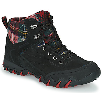 Shoes Women Walking shoes Allrounder by Mephisto NIGATA TEX Black / Red