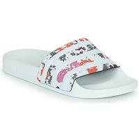 Shoes Women Sliders adidas Originals ADILETTE W White / Flowers