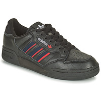 Shoes Low top trainers adidas Originals CONTINENTAL 80 STRI Black / Blue / Red