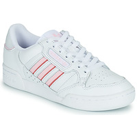 Shoes Women Low top trainers adidas Originals CONTINENTAL 80 STRI White / Pink