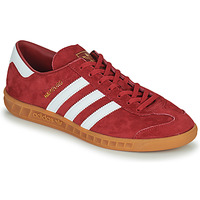Shoes Men Low top trainers adidas Originals HAMBURG Red