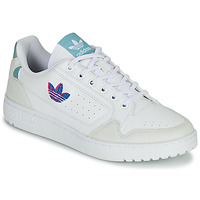 Shoes Women Low top trainers adidas Originals NY 90 W White / Blue