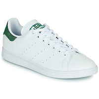 Shoes Low top trainers adidas Originals STAN SMITH White / Striped / Fluorescent
