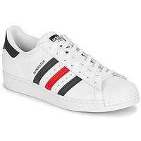 Shoes Low top trainers adidas Originals SUPERSTAR White / Blue / Red