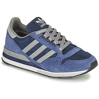 Shoes Low top trainers adidas Originals ZX 500 Blue / Grey