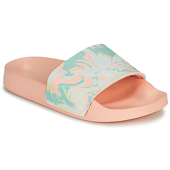 Shoes Girl Low top trainers adidas Originals ADILETTE LITE J Pink