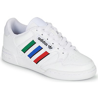 Shoes Children Low top trainers adidas Originals CONTINENTAL 80 STRI J White / Green / Blue