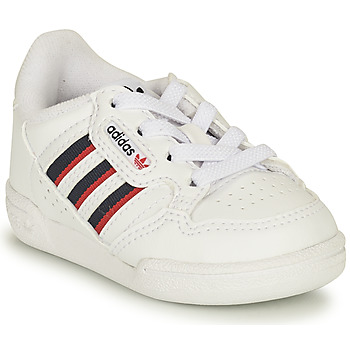 Shoes Children Low top trainers adidas Originals CONTINENTAL 80 STRI I White