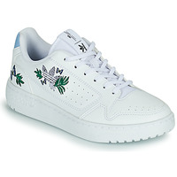 Shoes Girl Low top trainers adidas Originals NY 90 J White / Purple