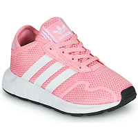 Shoes Girl Low top trainers adidas Originals SWIFT RUN X C Pink