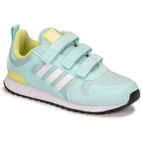 Shoes Children Low top trainers adidas Originals ZX 700 HD CF C Blue / Yellow