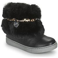 Shoes Girl Mid boots Primigi B&G LUX Black