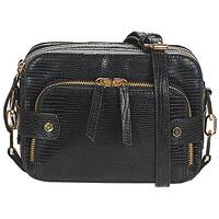 Bags Women Shoulder bags Petite Mendigote JIMMY Black