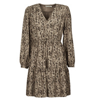 Clothing Women Short Dresses See U Soon 21221194 Khaki