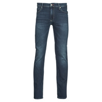Clothing Men Slim jeans Teddy Smith REEPLE ROCK Blue / Dark
