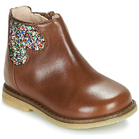 Shoes Girl Mid boots Acebo's 3202-CUERO-I Brown