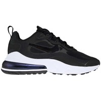 Shoes Women Low top trainers Nike Air Max 270 React Black