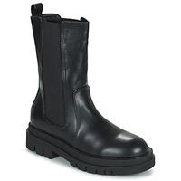 Shoes Women Mid boots Moony Mood PAULA Black