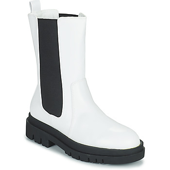 Shoes Women Mid boots Moony Mood PAULA White